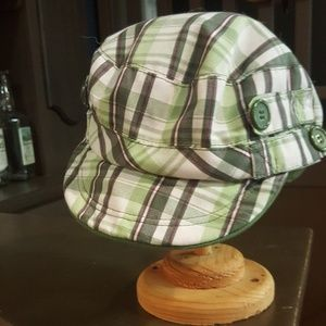 Accessories - Ladies Caddie Cap with Buttons szSmall